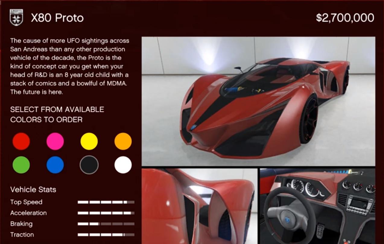 Grotti X80 Proto Location Offline Supercars Gallery