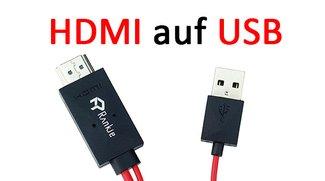HDMI auf USB & USB to HDMI – so geht's mit Adapter