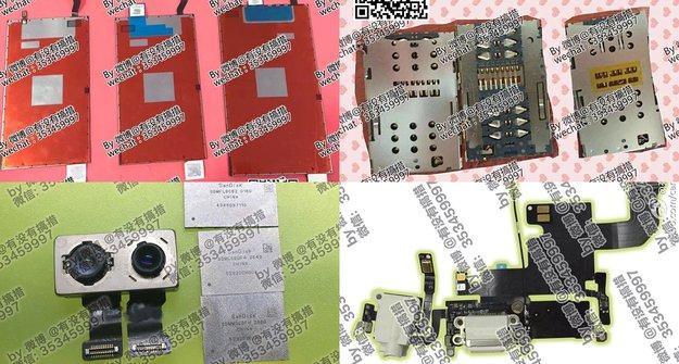 iPhone 7: Bilder zeigen Komponenten für Dual-SIM-Kartenslot