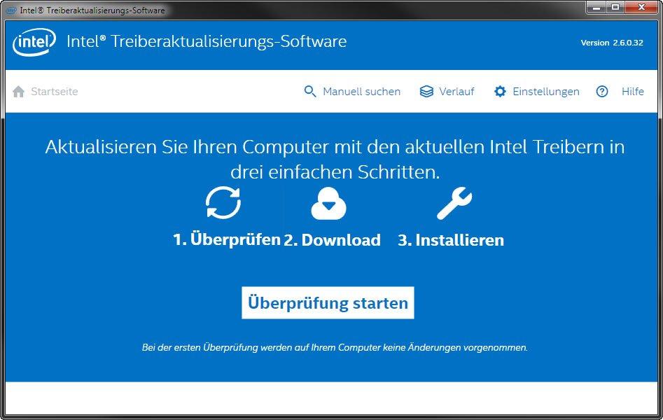 Das Intel Driver Update Utility installiert die aktuellen Intel-Treiber für euren PC.