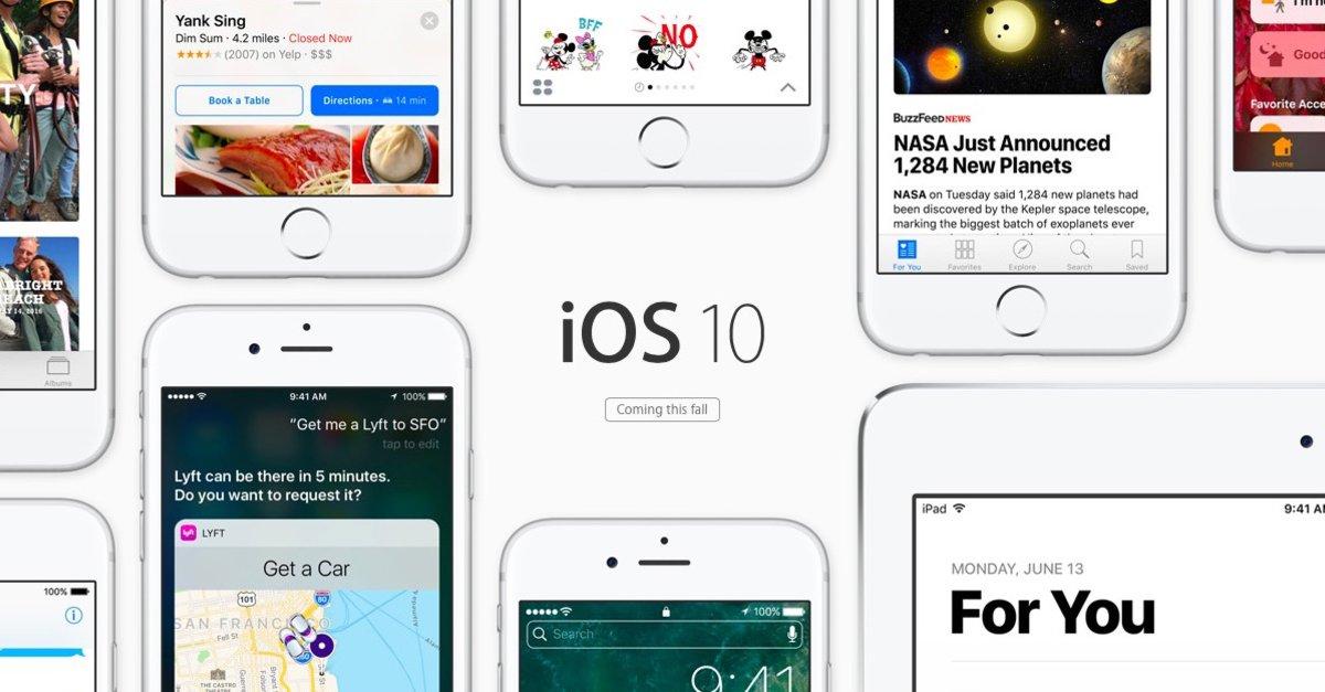 iOS 10: Vorinstallierte Apps löschen und vom iPhone/iPad Homescreen ...