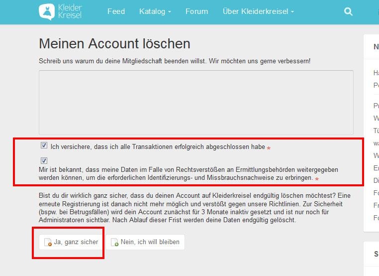 Paypal Account Löschen