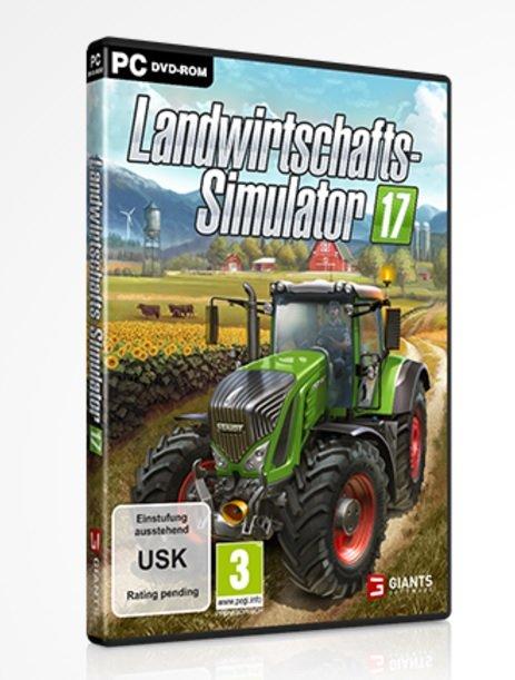 Das offizielle Cover von LS 17 mit einem Fendt.