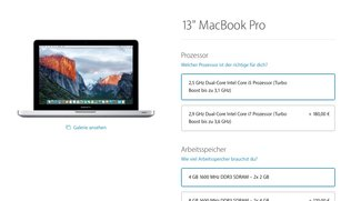 MacBook Pro: Non-Retina-Modell fliegt wohl bald aus Sortiment