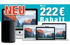 Mac kaufen und bis zu 222 Euro...