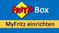 Myfritz-Konto einrichten und löschen – so geht's