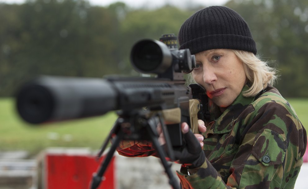 Helen Mirren in R.E.D.