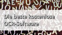 OCR Software: Die beste Freeware zur Texterkennung