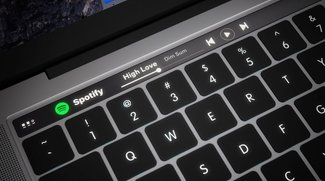 Stilvolles Konzept zum MacBook Pro mit OLED-Touchscreen-Leiste