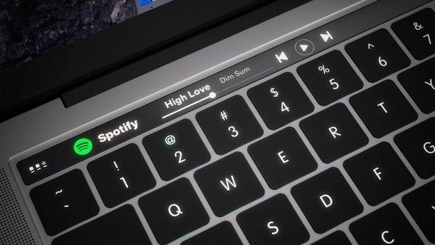 MacBook Pro: macOS Sierra enthält Hinweise für OLED-Touchscreen-Leiste