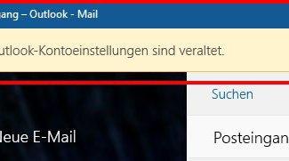 Lösung: Ihre Outlook-Kontoeinstellungen sind veraltet (Windows-10-Fehler)