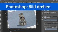 Photoshop: Bild und Ebene drehen – so geht's