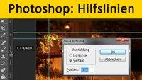 Photoshop: Hilfslinien einblenden, ausblenden & löschen – so geht's