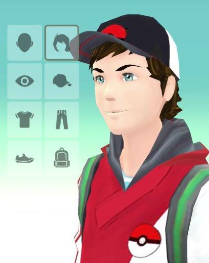 Startet ihr Pokémon GO zum ersten Mal, dürft ihr einen Trainer erstellen. (Quelle: pokemongodb.net)