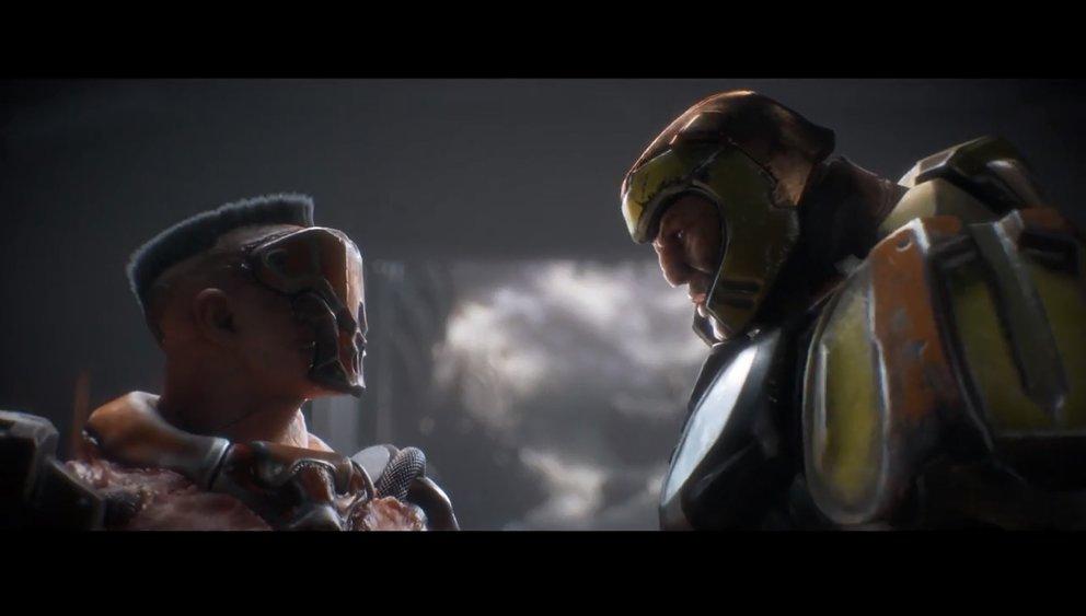 Quake Champions: Die Helden mit ihren unterschiedlichen Fähigkeiten gehören zu den großen Neuerungen.