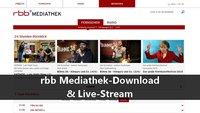 rbb Mediathek-Download & Live-Streams