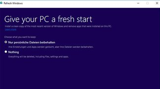 Refresh Windows Tool