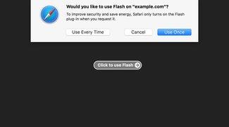 macOS Sierra: Flash und Co. in Safari 10 deaktiviert