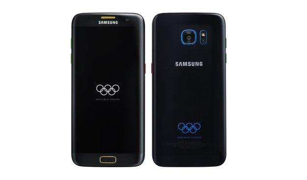 Bunt wie die olympischen Ringe: Das Samsung Galaxy S7 edge kommt bald in einer Olympia-Edition
