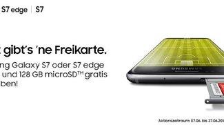 Samsung Galaxy S7 (edge) kaufen und microSD-Karte mit 128 GB kostenlos dazu bekommen