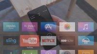 Apple TV: So sieht die neue Remote-App mit Siri-Unterstützung aus