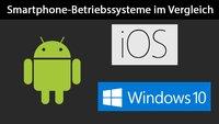 Smartphone-Betriebssysteme: Vergleich und Marktanteile