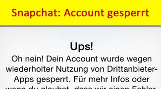 Snapchat Locked: Account gesperrt – so kommt ihr wieder rein!