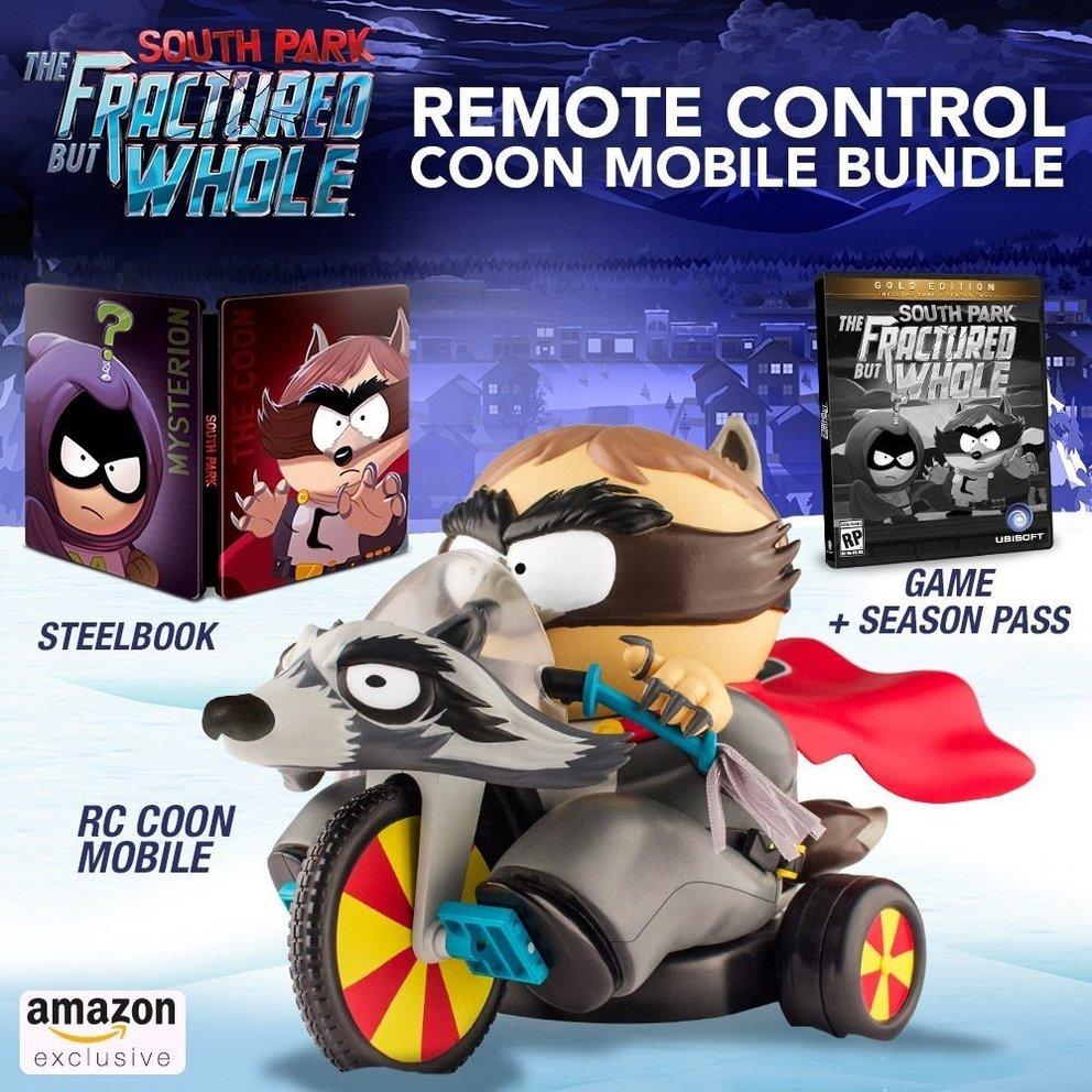 Diese Edition hat es in sich. Steuert Cartman in seinem Coon-Mobil per kostenloser App.