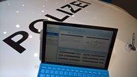 Polizei soll Anzeigen künftig auf Surface- und Lumia-Geräten schreiben