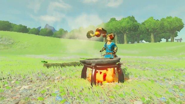 Zelda - Breath of the Wild: Alle Rezepte mit Effekten und Zutaten zum Kochen von Nahrung