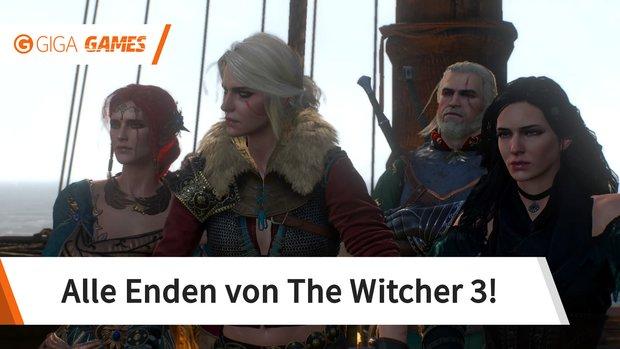 The Witcher 3: Alle Enden im Hauptspiel und den DLCs
