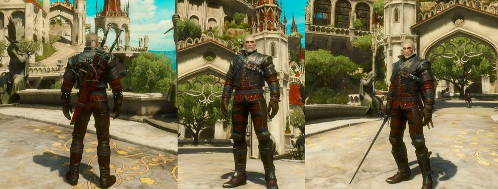 the-witcher-3-blood-and-wine-großmeister-wolfsschulenausrüstung-banner