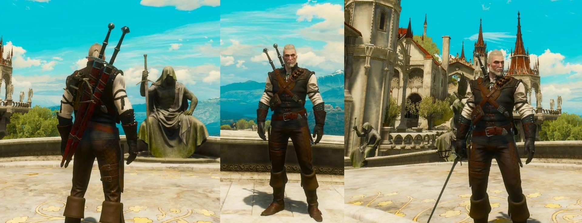 Witcher 3 Mantikor Rüstung