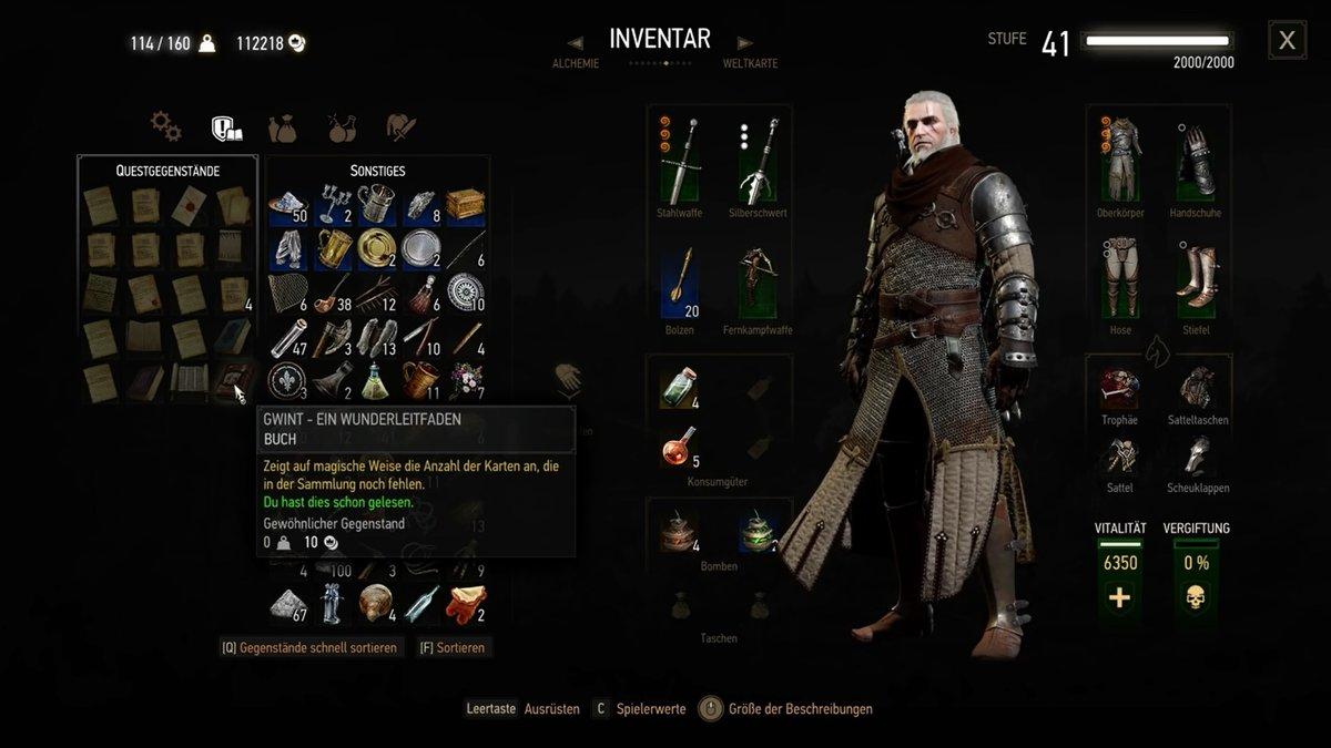 Witcher 3 Gwint Karten Fundorte
