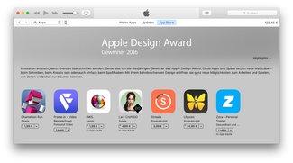 Top-Apps 2016: Preisträger der Apple Design Awards