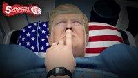 In diesem Spiel könnt ihr Donald Trump operieren