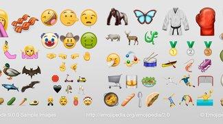 Facepalm, Speck, Gorilla & mehr: Das sind die neuen Emojis