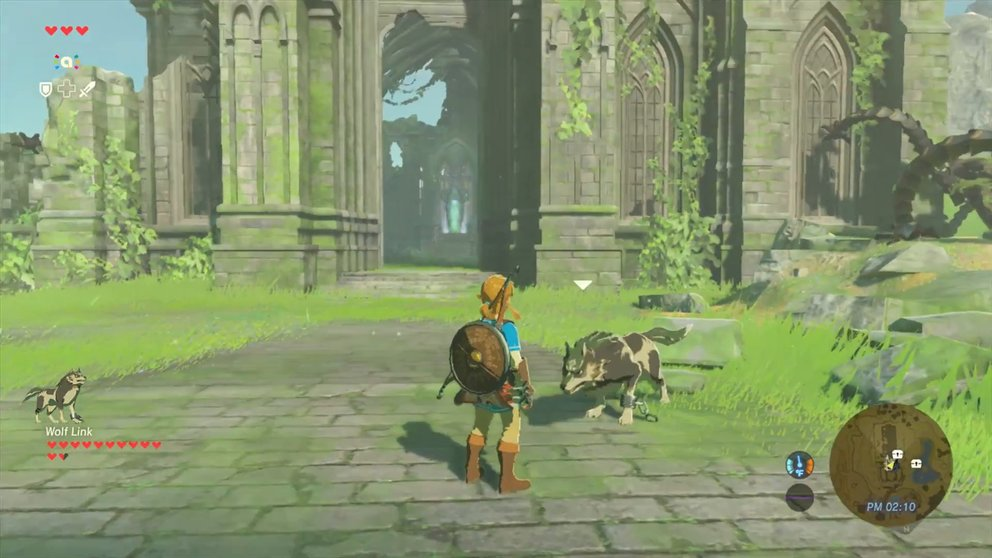 Video-Bild: the-legend-of-zelda-breath-of-the-wild-verwendung-des-wolf-link-amiibo-wii-u-97993.mp4 (4)