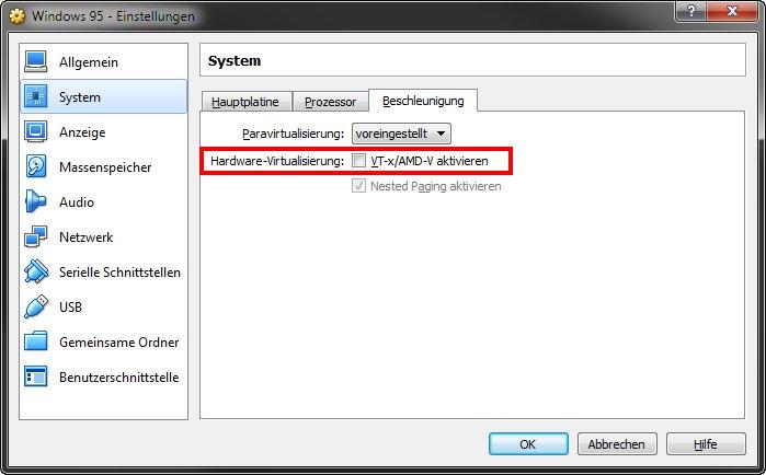 Windows 95 installieren mit Emulator und ISO – so geht's in