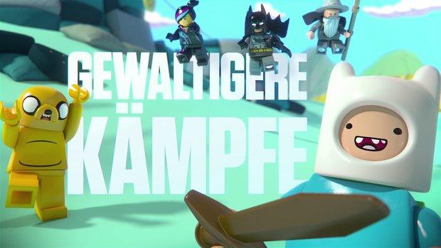 Lego Dimensions: Massive Erweiterung mit Sonic, Adventure Time, Knight Rider und vielen mehr
