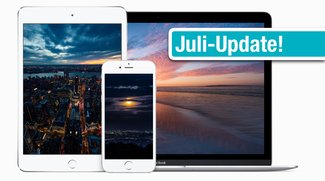 Wallpaper zum Download für iPhone, iPad und Mac: Neue Retina-Motive