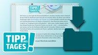 Webseiten auf dem Mac speichern, so gehts (5 Wege)