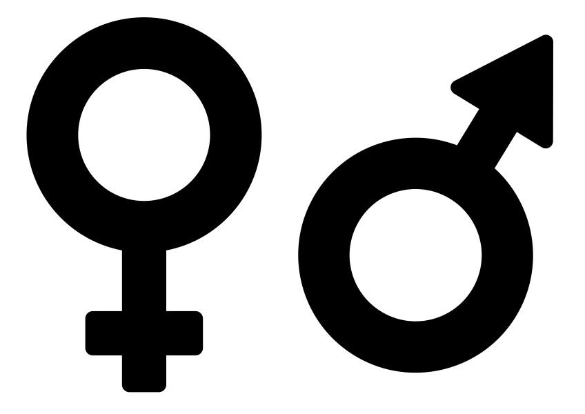 Für frau und symbol mann ♀ Frauensymbol