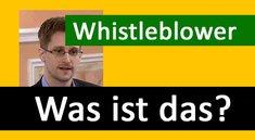 Was ist ein Whisteblower? Definition und Bedeutung erklärt