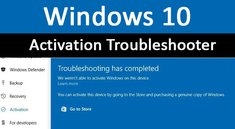 Windows 10: Activation Troubleshooter – Aktivierung mit Microsoft-Konto verbinden