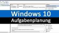 Windows 10: Aufgabenplanung – so geht's