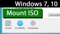 Windows 7, 10: Mount ISO – So funktioniert's