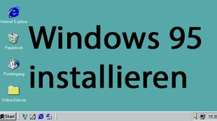 Windows 95 installieren mit Emulator und ISO – so geht's in Virtualbox