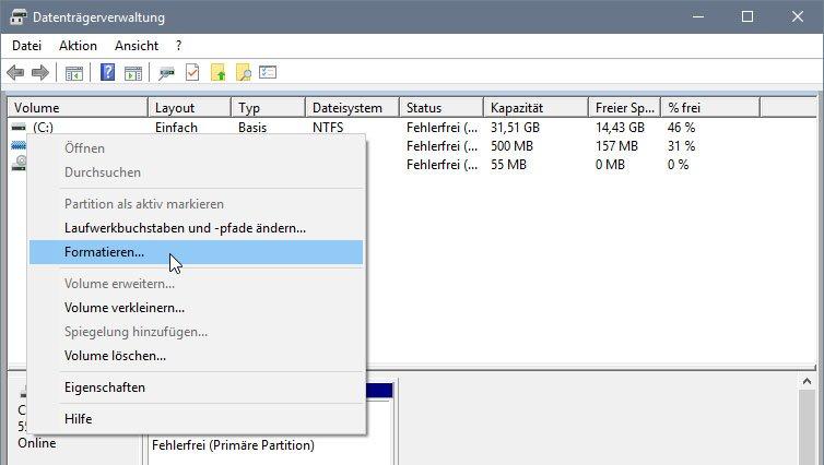 Sd Karte Lässt Sich Nicht Formatieren.Lösung Windows Konnte Die Formatierung Nicht Abschließen Fehler