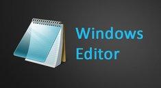 Windows Editor: Infos, öffnen & Alternativen – so geht's